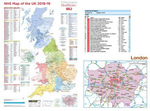 Atlas Map Of Uk.Nhs Map Of The Uk 2018 19