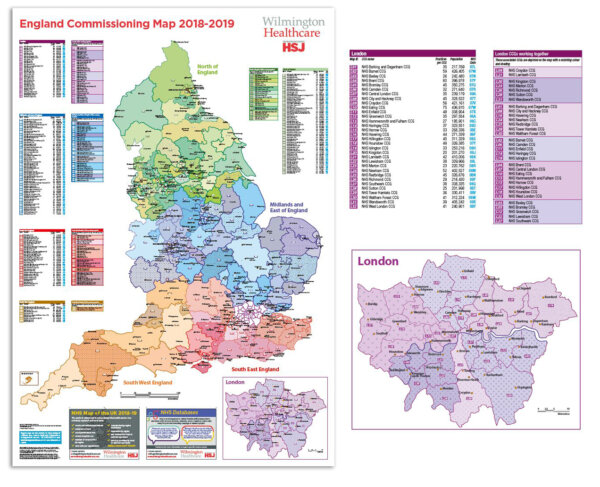 England Commissioning Map 2018-19