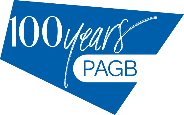 Logo of PAGB 100 years
